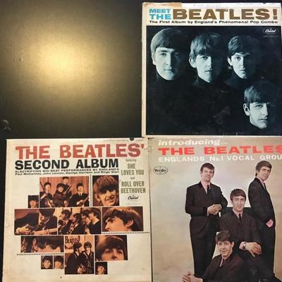 Meet the Beatles $15 The Beatles Second Album $15 Introducing the Beatles $20