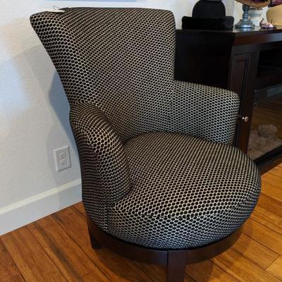 TC-105 Upholstered swivel chair $225