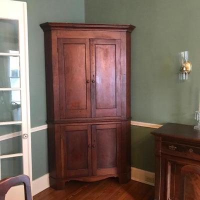 Kentucky Corner Cabinet