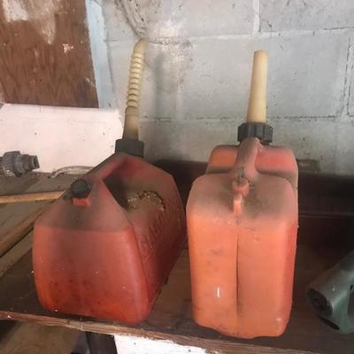 Gas cans $5 each