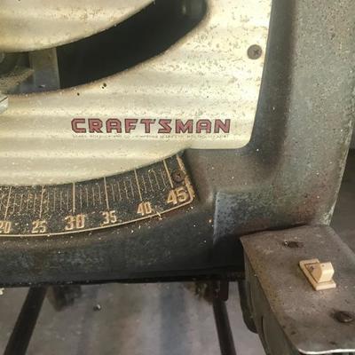 Craftsman saw table $75