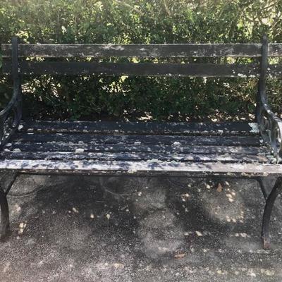 Charleston Bench $75