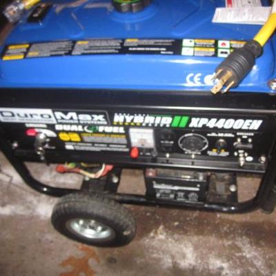 Duro-Max Hybird Generator Duel Gas Or Propane