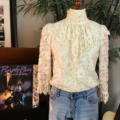 Edwardian Ruffle lace shirt