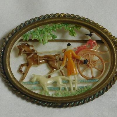 Carriage Brooch - Ca. 1900