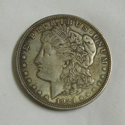 1921 - D Morgan Dollar