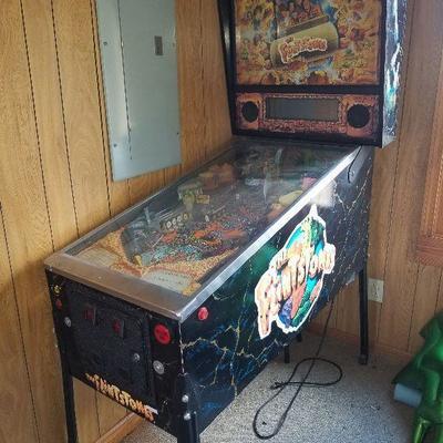 Flintstone Pinball