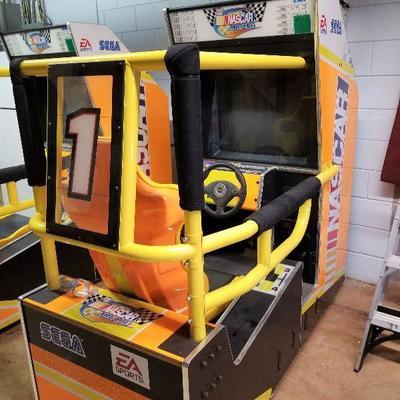 Driving Game Machine