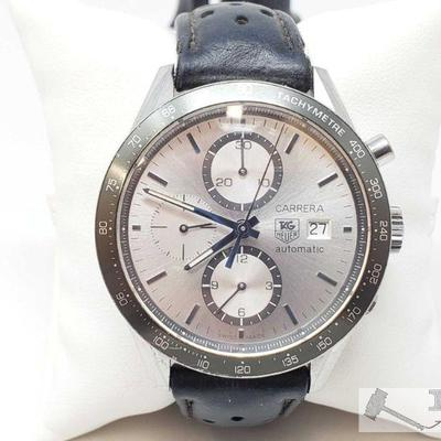540:Tag Heuer Carrera Swiss Made Wrist Watch Measures approx. 43mm Marked CV2011, VU7293