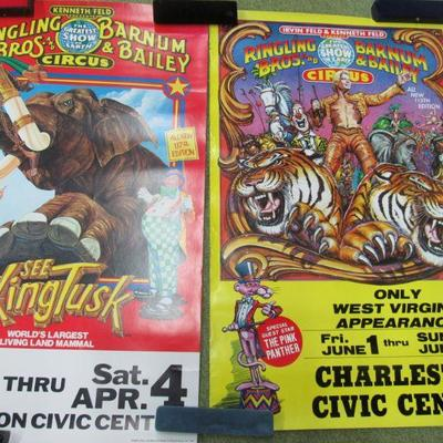 14 Vintage Circus posters