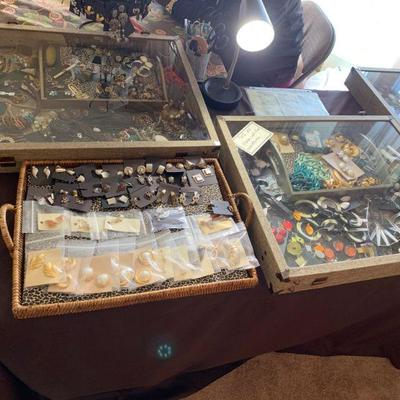 Sterling silver and vintage costume jewelry, final clearance priced at 75% off all weekend!