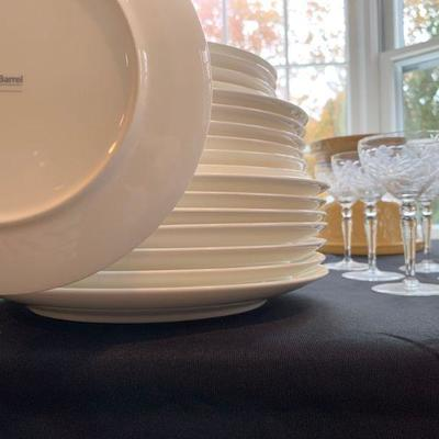 Crate and Barrel Dishware