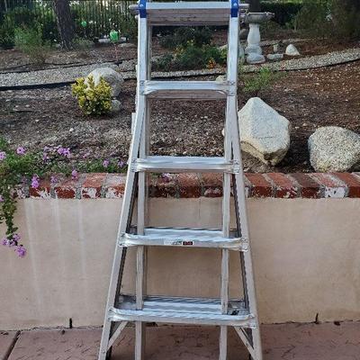 Werner 22Ft multi position ladder
