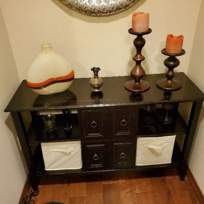 Decorative table / media console