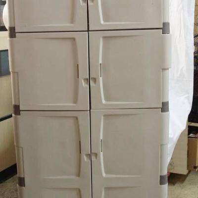Large Plastic Durable Storage Cabinet