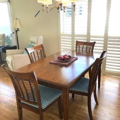 Hillsdale Dining Table w/4 Chairs - $380