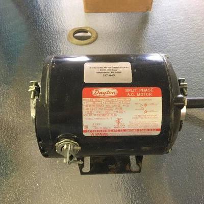 #Dayton split electric motor