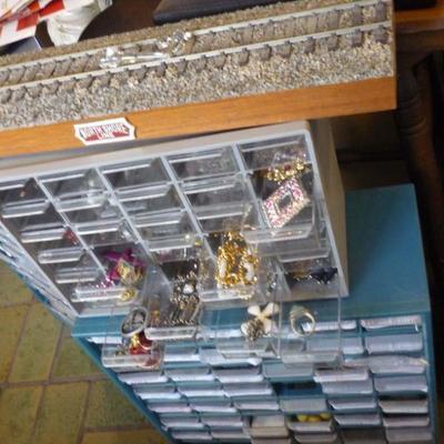 Drawers full of jewelry