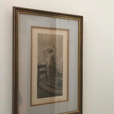 Wallace Nutting tinted photograph $48