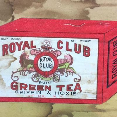 Vintage Tea boxes and shipping crates