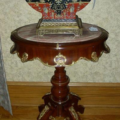 Portion of Fine French Furniture & Chinese Porcelain Accessories