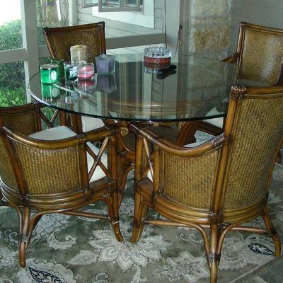 Portion of Indoor Patio Furniture