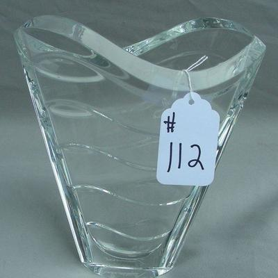 Portion of Signed Crystal:  Baccarat, Waterford, Erte