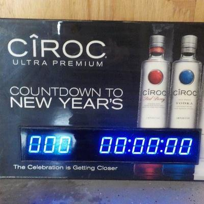 Ciroc Promotional DateTime Light W Countdown