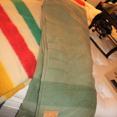 the multi color Hudson Bay blankets have been sold