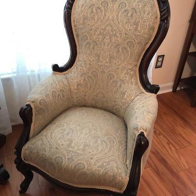 Restored Victorian Chair