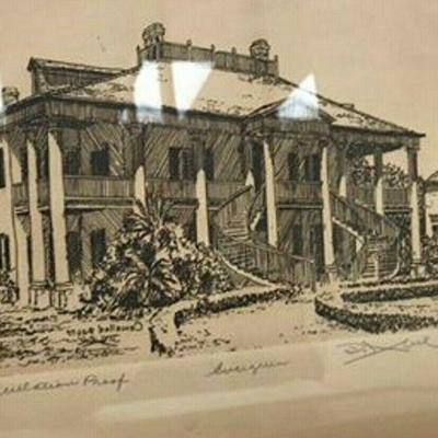 DG10: TWO David Abels New Orleans signed etchings   https://www.ebay.com/itm/123960423870