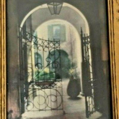 DG02: Delcroix signed French Quarter 1930s hand colored photo 6.5 x 5 in DG2  https://www.ebay.com/itm/123960425638