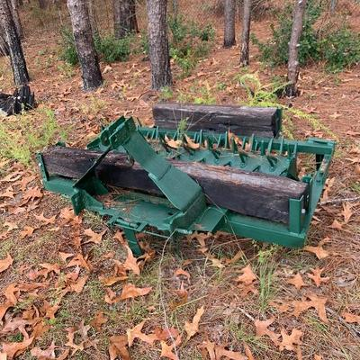 Tractor implement aerator