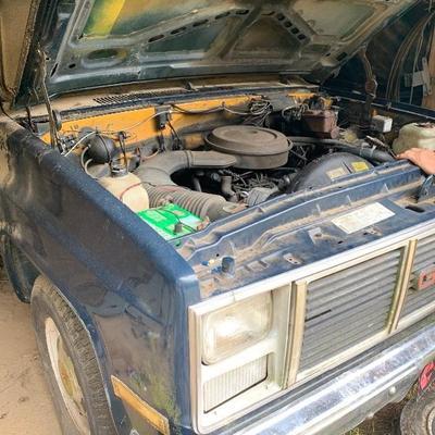 GMC 3500 State body work truck 1987