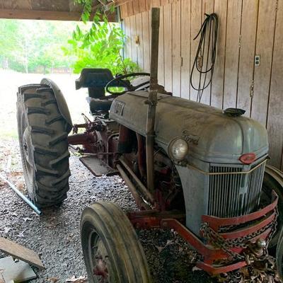 Vintage N series Ford tractor