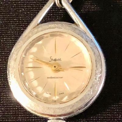 Sheffield watch necklace