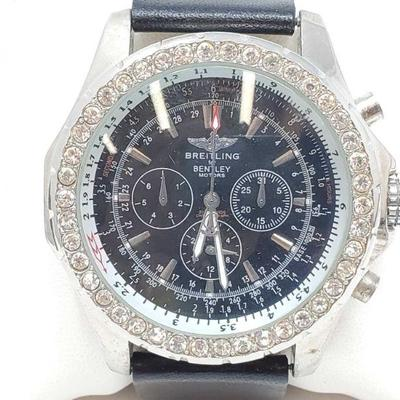 1111: Breitling for Bentley Motors Wrist Watch - NOT AUTHENTICATED Measures approx 54mm Does tick