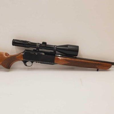 405: Browning BAR .308 Cal Rifle with Schmidt & Bender Scope Includes Schimidt & Bender Scope Serial number: 46074 Barrel length: 22