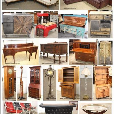 40+ Estates including Tools, Collectibles, Appliances, Brand New and Brand Name Furniture, Antiques!