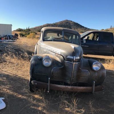 1940 Chevy 4 door sedan Special Deluxe