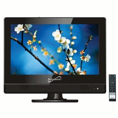 Supersonic 13.3 Class LED HDTV with USB and HDMI ...