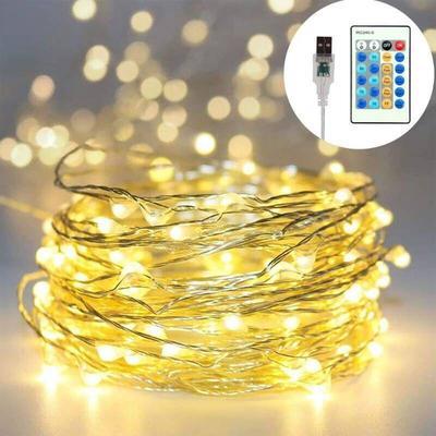 Fairy Lights, YMing Waterproof Fairy String Lights ...