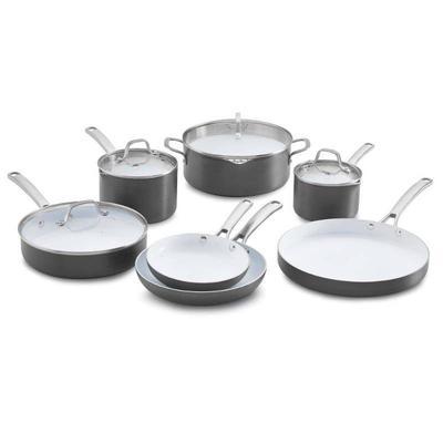 Calphalon Classic 11pc Ceramic Nonstick Cookware S ...