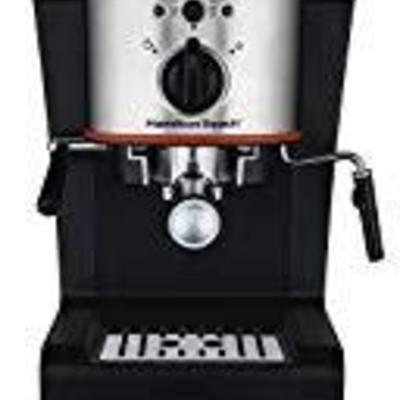 Hamilton Beach 40792 Espresso & Cappuccino Maker, ...
