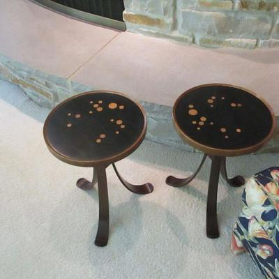 RARE pair of Edward Wormley Constellation tables