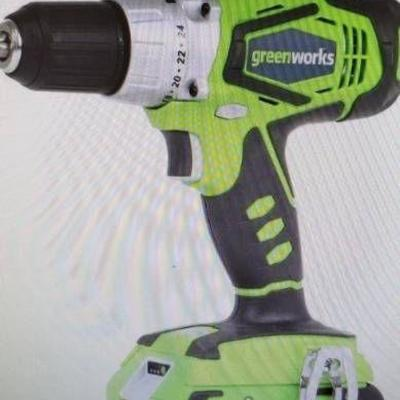 Greenworks 24v Compact Drill