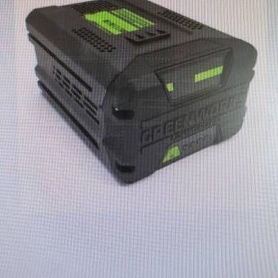 greenworks 2.5 ah lithium ion battery...