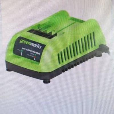 greenworks 24v battery charger..