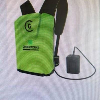 greenworks 900 wh lithium ion battery..