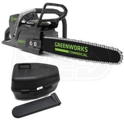 Green works chainsaw 18in